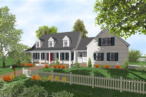 cape cod houses with three car garages Cape Cod 2 Story