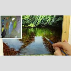 #44 How To Paint A Shallow River  Oil Painting Tutorial