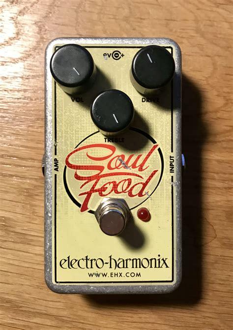 electro cuisine electro harmonix soul food image 2053391 audiofanzine