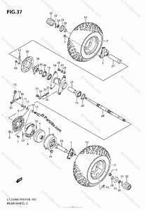 Suzuki Atv 2008 Oem Parts Diagram For Rear Wheel