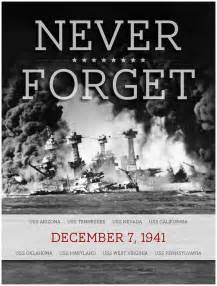 Never Forget Pearl Harbor Day