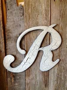 161 best images about r for rita on pinterest for Wooden door letters
