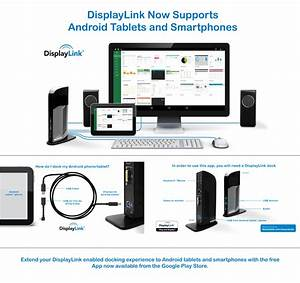Displaylink Launches New Android App On The Google Play Store  Enabling Display Connectivity To