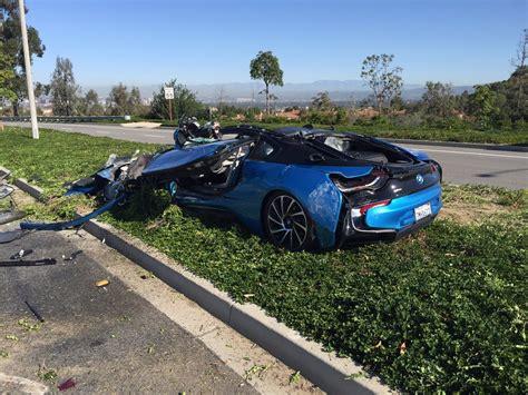 Bmw Cars  News Bmw I8 Destroyed In Freak Crash