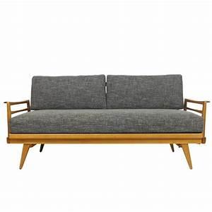 Knoll Antimott Sofa : mid century modern sofa knoll antimott beech wood daybed ~ Sanjose-hotels-ca.com Haus und Dekorationen