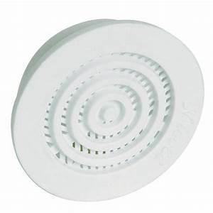 Grille De Ventilation Nicoll : grille d 39 a ration b43 contre cloisons pour tube de 35mm ~ Dailycaller-alerts.com Idées de Décoration