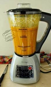 Blender Chauffant Recette : soupe carotte cumin au blender chauffant soupe carotte cumin carotte cumin et blender ~ Louise-bijoux.com Idées de Décoration