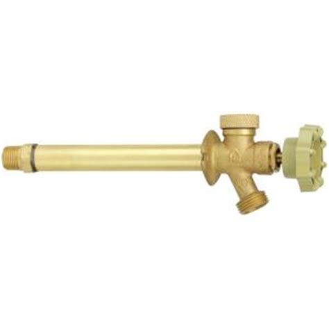 Proof Faucet Home Depot by Homewerks Worldwide 1 2 In X 6 In Brass Mpt X Mht Anti