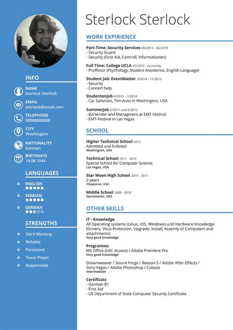 Create Cv by Create A Graphic Design Cv For Universal Or Specific Use