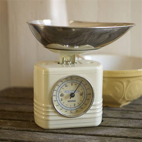 vintage kitchen scale retro style kitchen scales by the original home