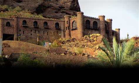 copenhaver castle  camelback moutain  arizona