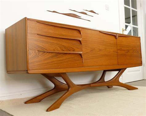Danish Modern Sofa Table by Retropassion21 Mid Century Danish Modern Retro Teak