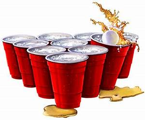 Beer Pong Cups Stock Art Designs - John Deer's Ultimate Stash