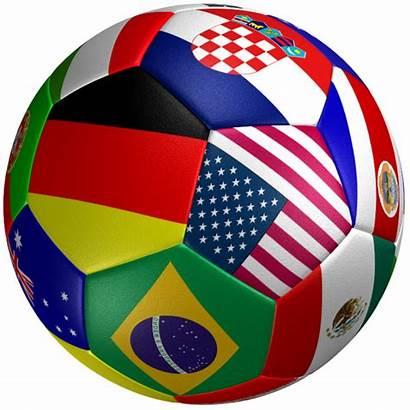 Football Countries Soccer Ball Flag Incredible 3d