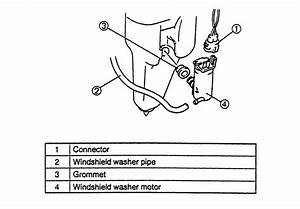 Windshield Washer Motor