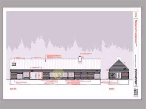 modern contemporary floor plans longhouse dogtrot 3 bedroom floor plan package
