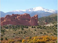 Colorado Springs, CO Pikes Peak and Garden of the Gods