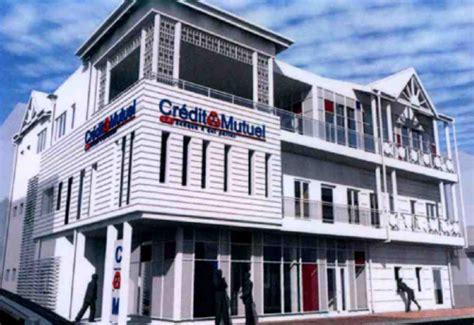 siege social credit mutuel pose de la première du futur siège du crédit mutuel