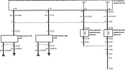 Lincoln Navigator Wiring Harnes Diagram by 2003 Lincoln Navigator Air Suspension Wiring Diagram