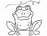 Toad Ropucha Kolorowanki Colorare Rane Bestcoloringpagesforkids Designlooter sketch template