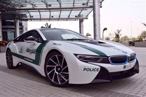 Dubai Police Gets A Bmw I8