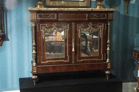 dining room server cabinet napoleon side cabinet french server with brass mountings