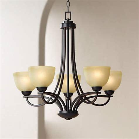 wide chandelier bennington 26 quot wide 5 light italian bronze chandelier