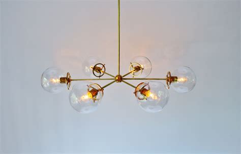 clear glass chandelier modern brass chandelier with clear glass orb globe shades 6