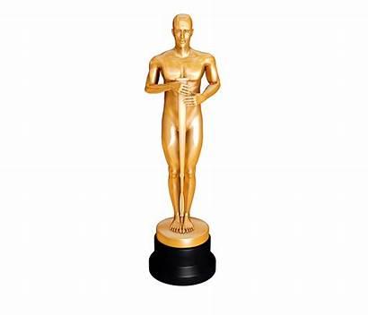 Oscar Statue Award Clipart Trophy Clip Cliparts