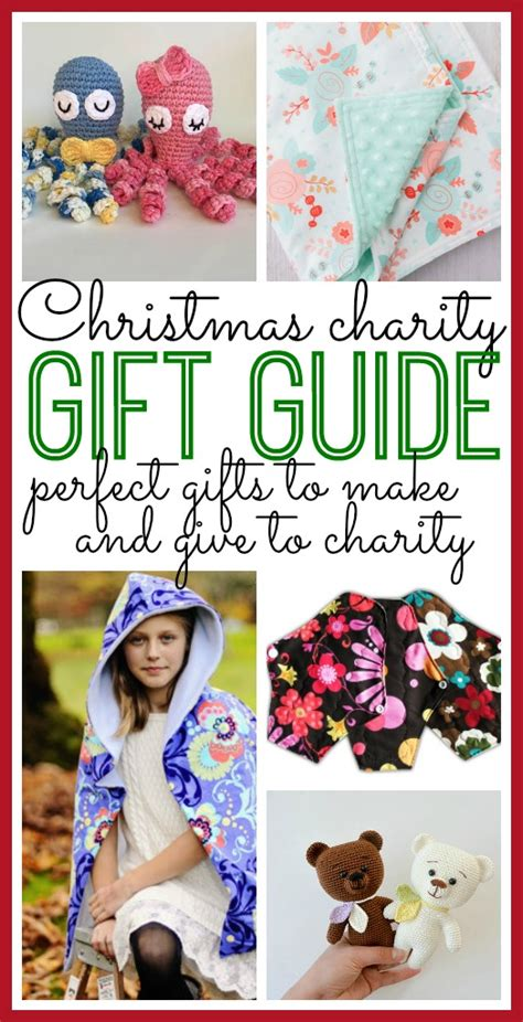 christmas gift donation charity charity gift guide to diy and give sugar bee crafts