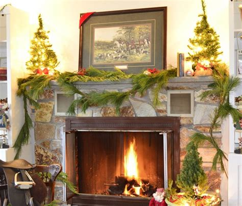decorate fireplace for christmas add fire to the fireplace area with mesmerizing decoration ideas godfather style