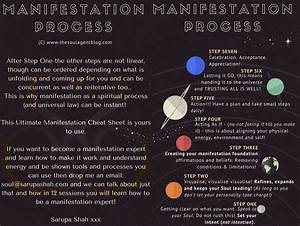 Your Ultimate Manifestation Cheatsheet