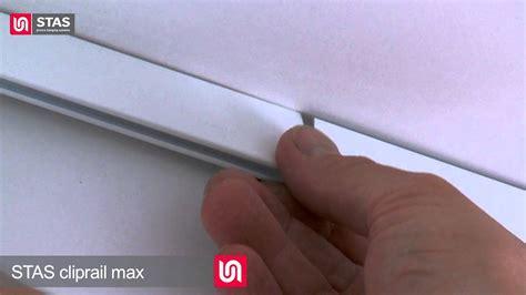 montage video schilderij ophangsysteem cliprail max youtube