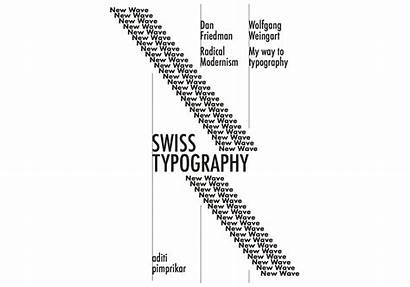 Typography Swiss Wolfgang Weingart