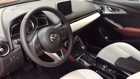 mazda cx 3 interior 2016 mazda cx 3 drive a small crossover that makes