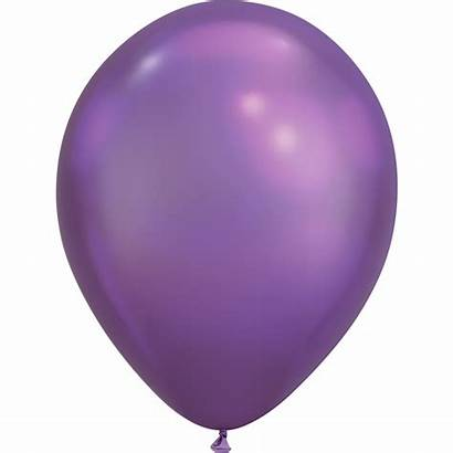 Purple Latex Balloon Balloons Party Chrome Decorating