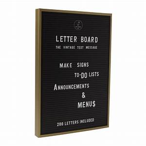 black letter board With black letter board