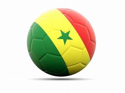 Senegal Football Icon Flag Commercial Non Use