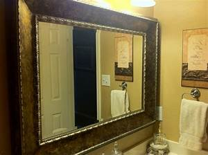 bathroom mirror frame kit genersys With mirror framing kits for bathrooms