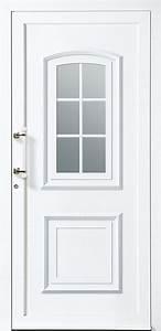 Porte d39entree basic p1 bieber pvc for Porte d entrée pvc en utilisant pvc double vitrage