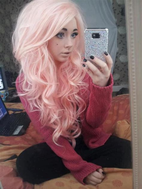 Top 50 Pastel Pink Hair Colors Hair Colors Ideas