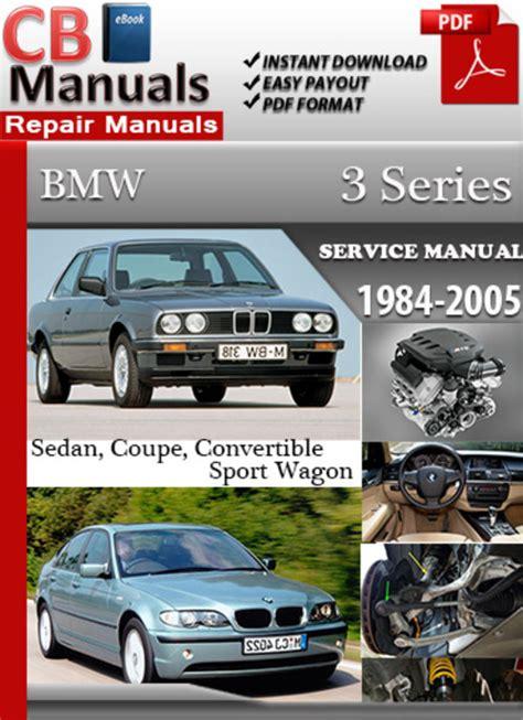 online auto repair manual 2005 bmw 5 series user handbook bmw 3 series 1984 2005 online service repair manual download manu
