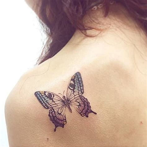 Butterfly Shoulder Blade Tattoos  Google Search Love