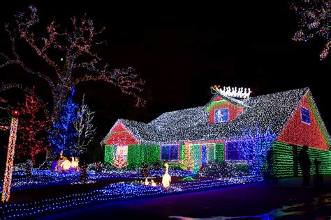 houses  texas  amazing christmas decorations