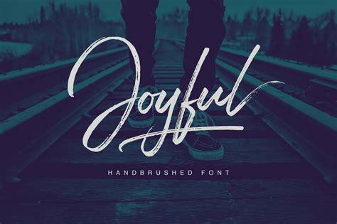 what is the best font for a cover letter joyful script script fonts creative market