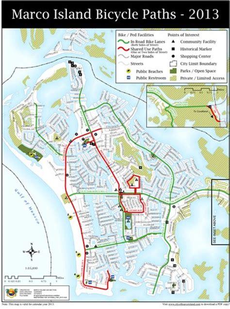 marco island bike map maplets