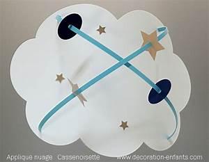 Applique Murale Nuage : applique enfant d coration nuage fabrique casse noisette ~ Teatrodelosmanantiales.com Idées de Décoration