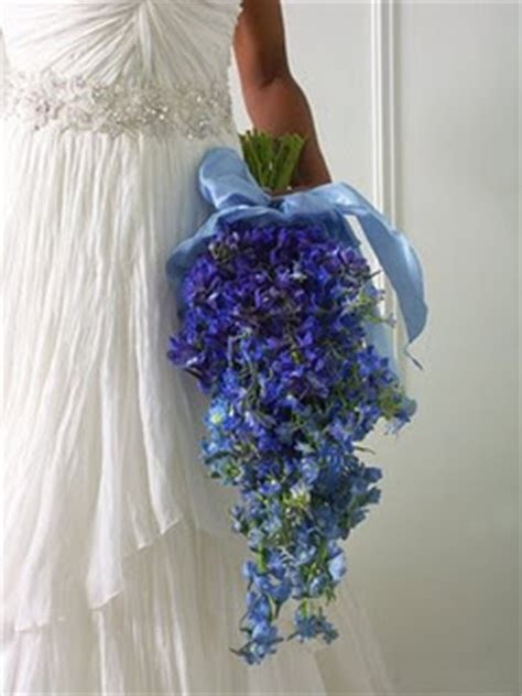 do it yourself weddings blue bridal bouquet