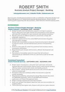 sample resume for business analyst in banking domain - sample resume for business analyst in banking domain