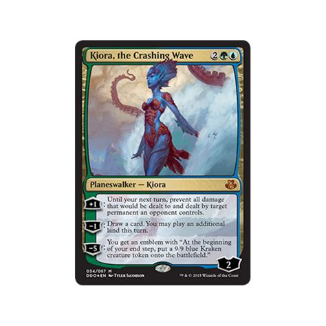 Kiora The Crashing Wave Duel Deck by Duel Decks Elspeth Vs Kiora